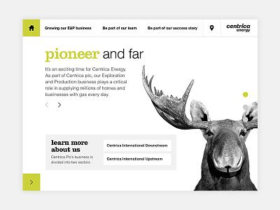 Home b2b energy technology ipad ui web