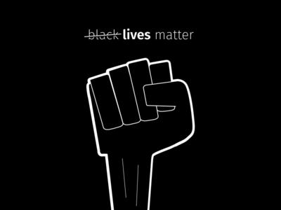 Lives matter respect black lives black and white black figma