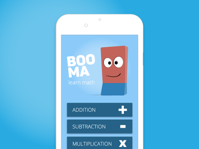 Booma Learn Math app Concept by bruno - Dribbble