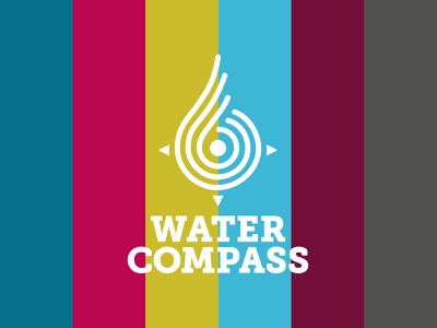 Logo for Water Compass color logo
