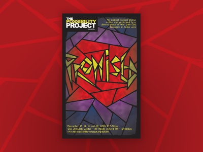 """""""Promised"""" Theatrical Key Art theater posters key art theater design"""