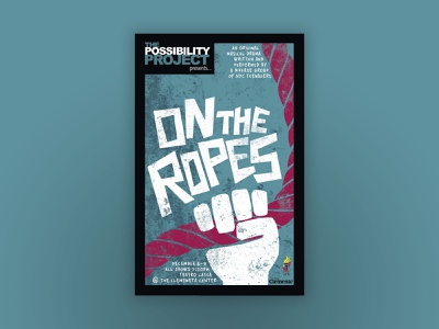 """""""On the Ropes"""" Theatrical Key Art theater posters key art theater design"""