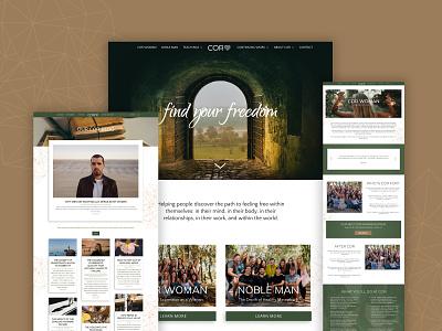 COR Website wordpress website