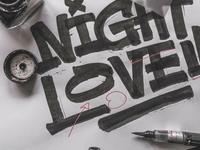 """""""Night Lovell"""" - Sketch"""