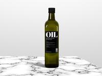 Olive oil - Mockup