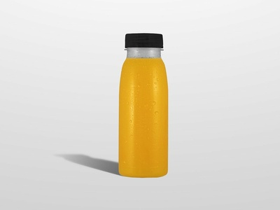 Juice - Bottle mockup