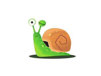 Snail snail flat artchallenge marathon vector design art draw design