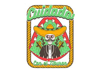 Cuidado mexico desert 420 cactus comedy clothes style