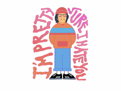 Cuco style photoshop procreate digital art los angeles indie hate love comedy art character music cuco