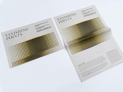 Performance Festival Newsprint Brochure