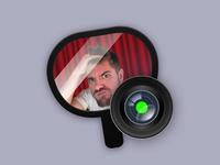 Hand Mirror: App Icon native app app icon mac
