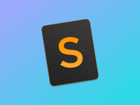 Sublime Text Icon, for Yosemite