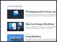 SketchCasts v2 – Latest Episodes