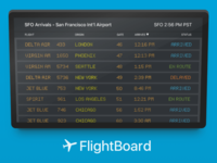 FlightBoard Apple TV