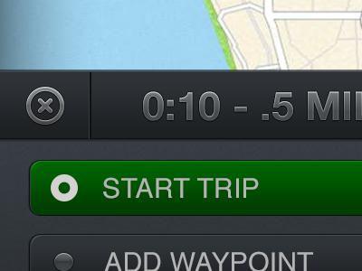 Travel Journal GPS Live Track travel journal ios iphone ui