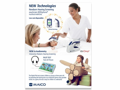 Maico Flyer sell sheet flyer