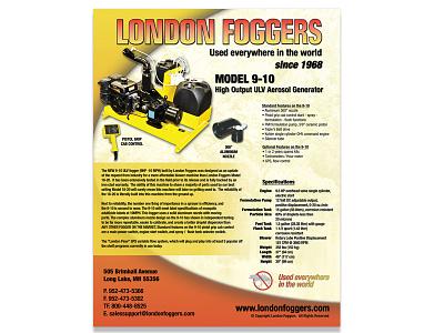 London Foggers - 9-10 photo shoot flyer