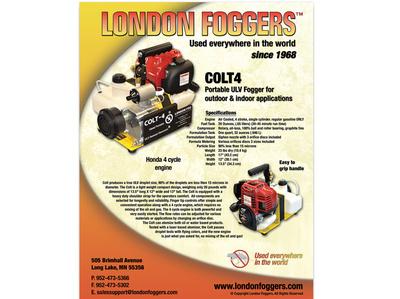 London Foggers - COLT photo shoot flyer