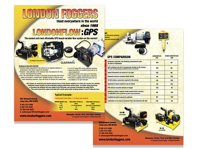 London Foggers - FLOW-GPS photo shoot flyer