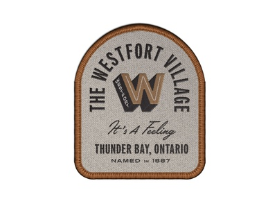 Westfort Patch embroidered patch embroidery badge patch