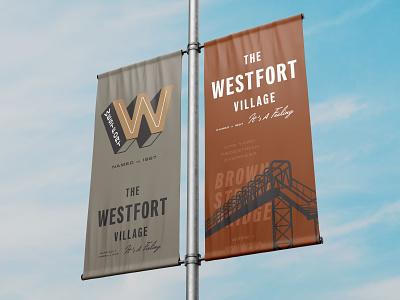 Westfort Street Banners branding street flag flag street banner