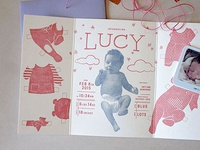 Birth Announcement: Lucy