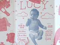 Lucy's Birth Announcement - Complete