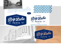 Big Lake Pasta Logo Design Board Small
