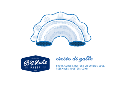 Big Lake Pasta Packaging