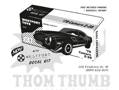 Westfort Productions vector illustration camaro cars tshirt shirt