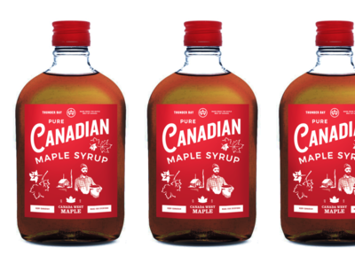 Maple Syrup Flask