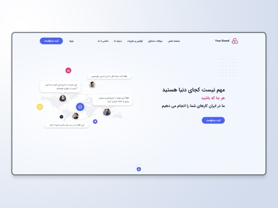 Landing Page white ux ui home page clean ui clean light home landing page