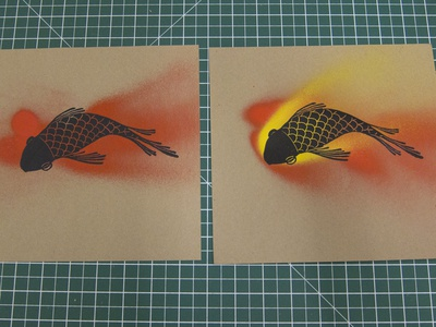 Goldfish (letterpress prints part 3)