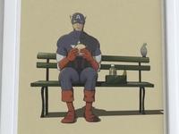 Marvel Eats Trio Series 1 - Captain America