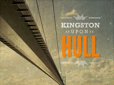Kingston upon Hull texture vintage hull humber humber bridge type