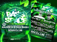 BASS SPACE: EAZEE'S B'DAY BASH