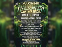 M#B HALLOWEEN TAKE OVER SPECIAL
