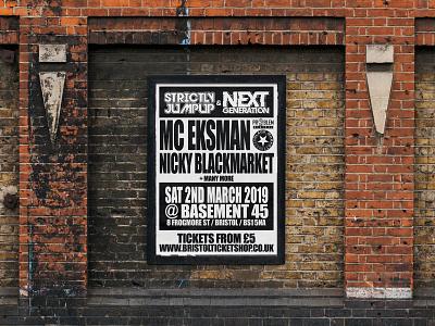 STRICTLY JUMPUP & NEXT GENERATION posterdesign eventflyers drumbass design promotion rave eventartwork flyer design drumnbass event artwork dnb