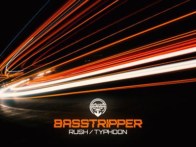 BASSTRIPPER - RUSH / TYPHOON drumbass design rave artwork drumnbass digitalart dnb