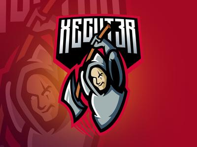 Xecut3r Twitch Esport Streamer Logo