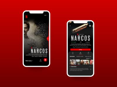 Netflix App UI Redesign