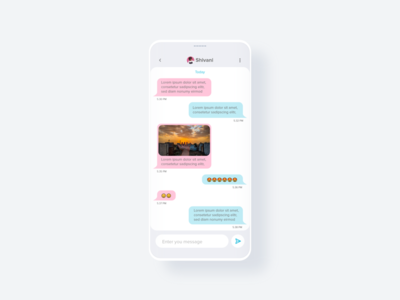 Chat Screen design