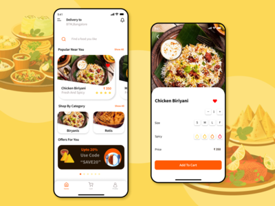 Modak-Food Delivery App ecommerce app indian food modak fooddelivery fooddeliveryapp foodapp ui ux ios app design iosaapp ios design ui  ux uiux uidesign app