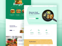 Listing Restaurant landing page