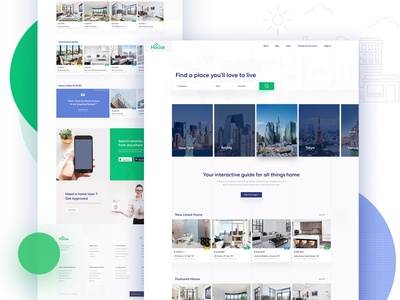 Listing Real Estate Landing Page