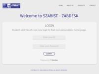 ZABDESK UI/UX Re-Design