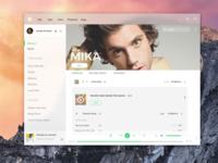 Spotify Fluent Design