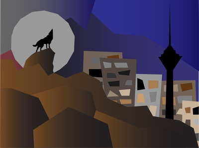 Lonely howls in Tehran