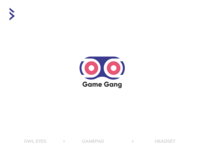 Game Gang e-sport community logo design