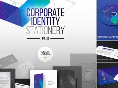 Corporate Business Identity Stationery Pack stationery design print pack stationery business identity corporate identity